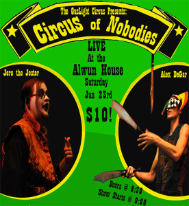 Circus of Nobodies Poster-3